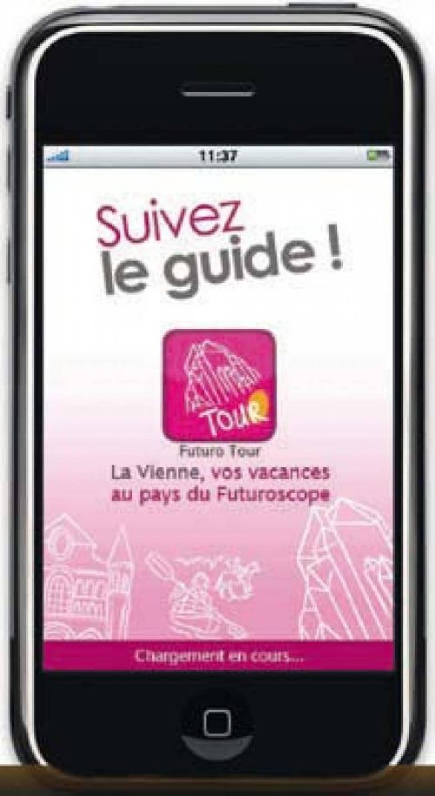 Vienne touristique sur Iphone