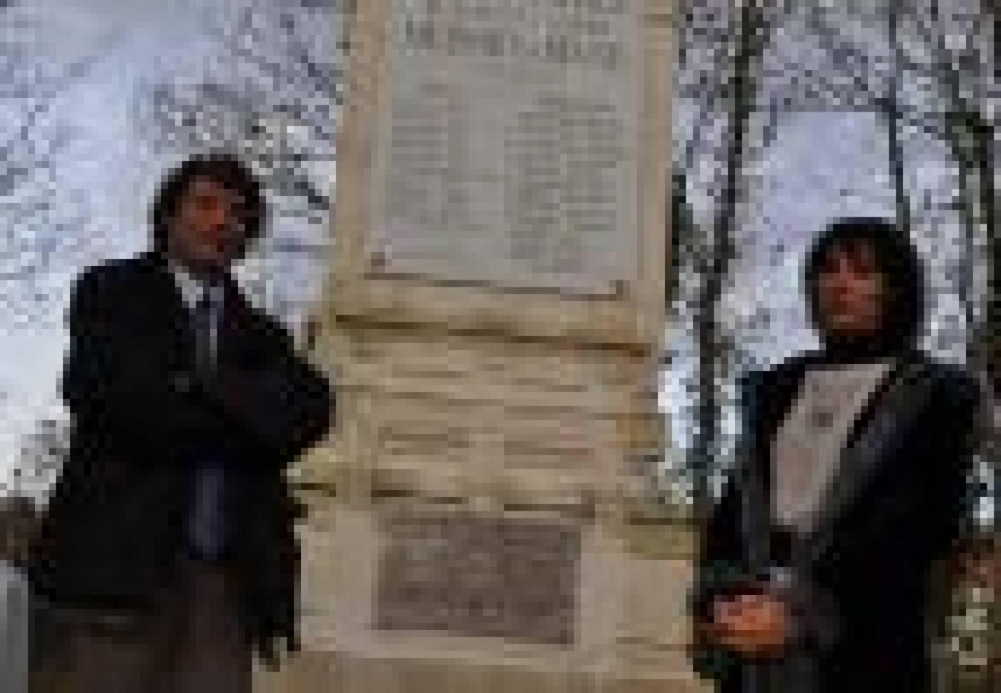 Migné-Auxances rend hommage aux victimes<br> des Lourdines