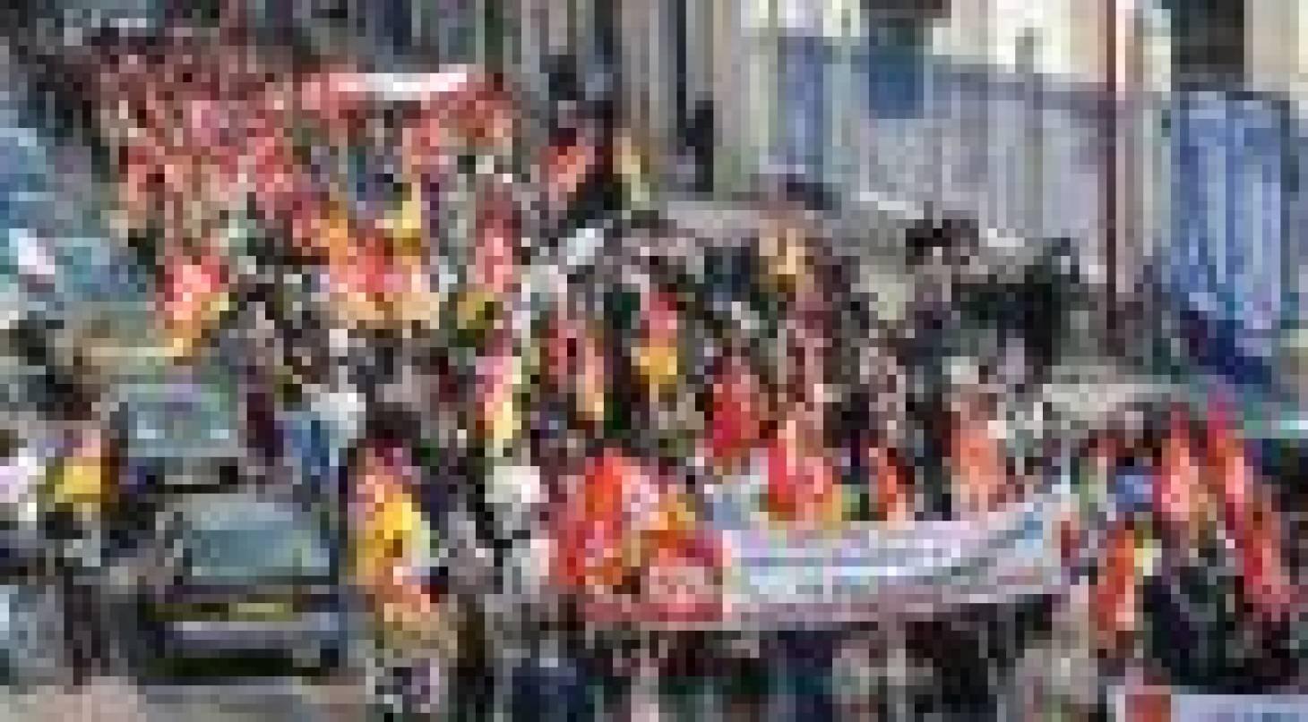 3000 manifestants dans les rues
