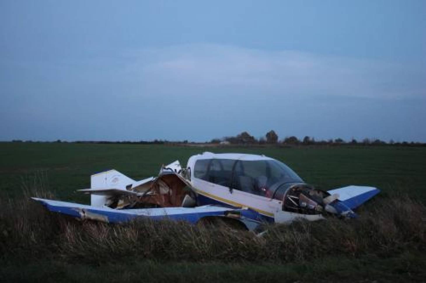 Chauvigny : un accident d'avion fait un blessé léger