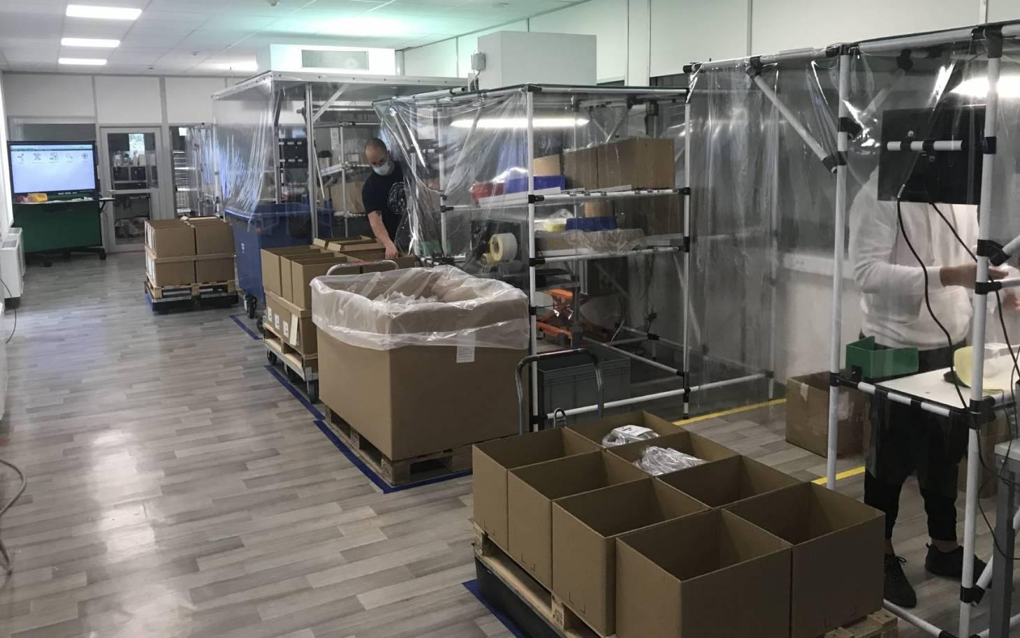 Respirateurs: Schneider Electric dans la boucle