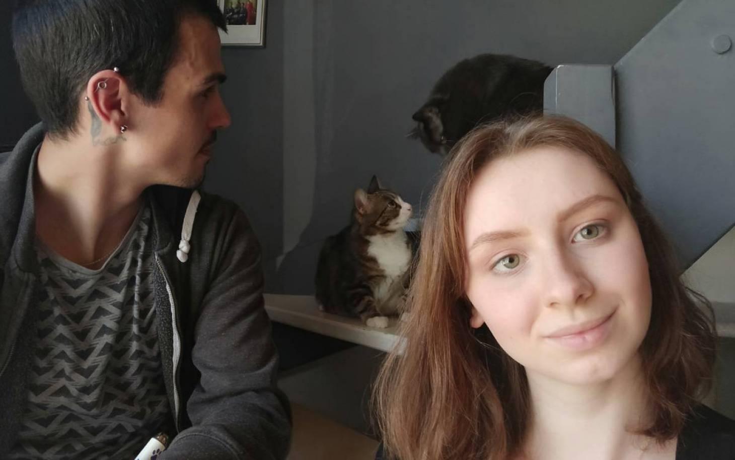 Aurore et Matthieu, pour l'amour des chats