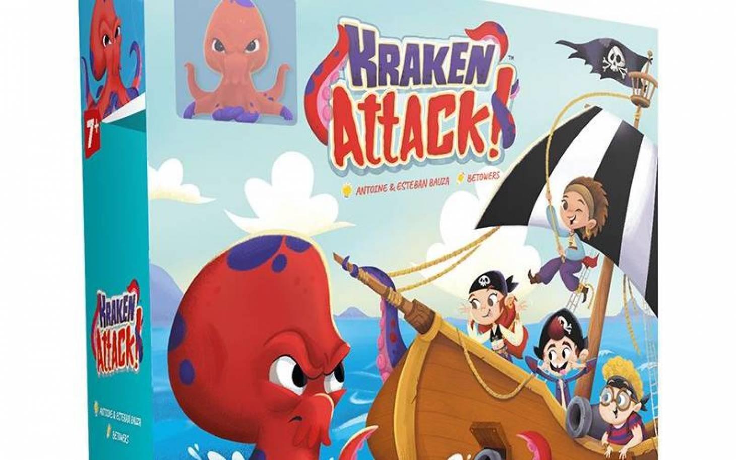 Avec Kraken Attack, surveillez vos arrières
