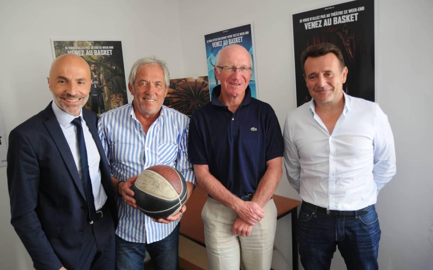 Basket - Un quatuor à la tête du PB86