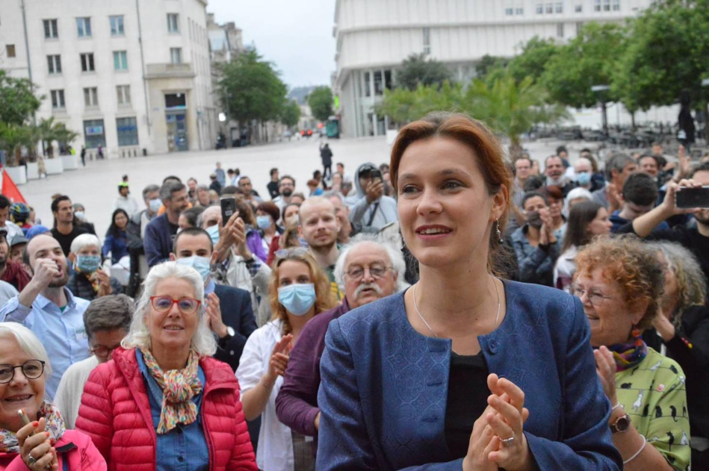 Municipales - La surprise Léonore Moncond'huy