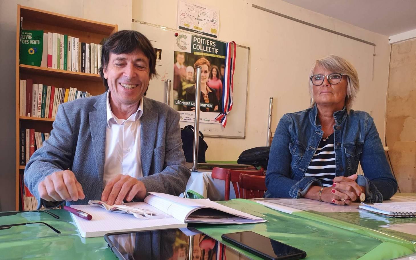 Sénatoriales - Thierry Perreau et Véronique Massonneau veulent parler d'écologie