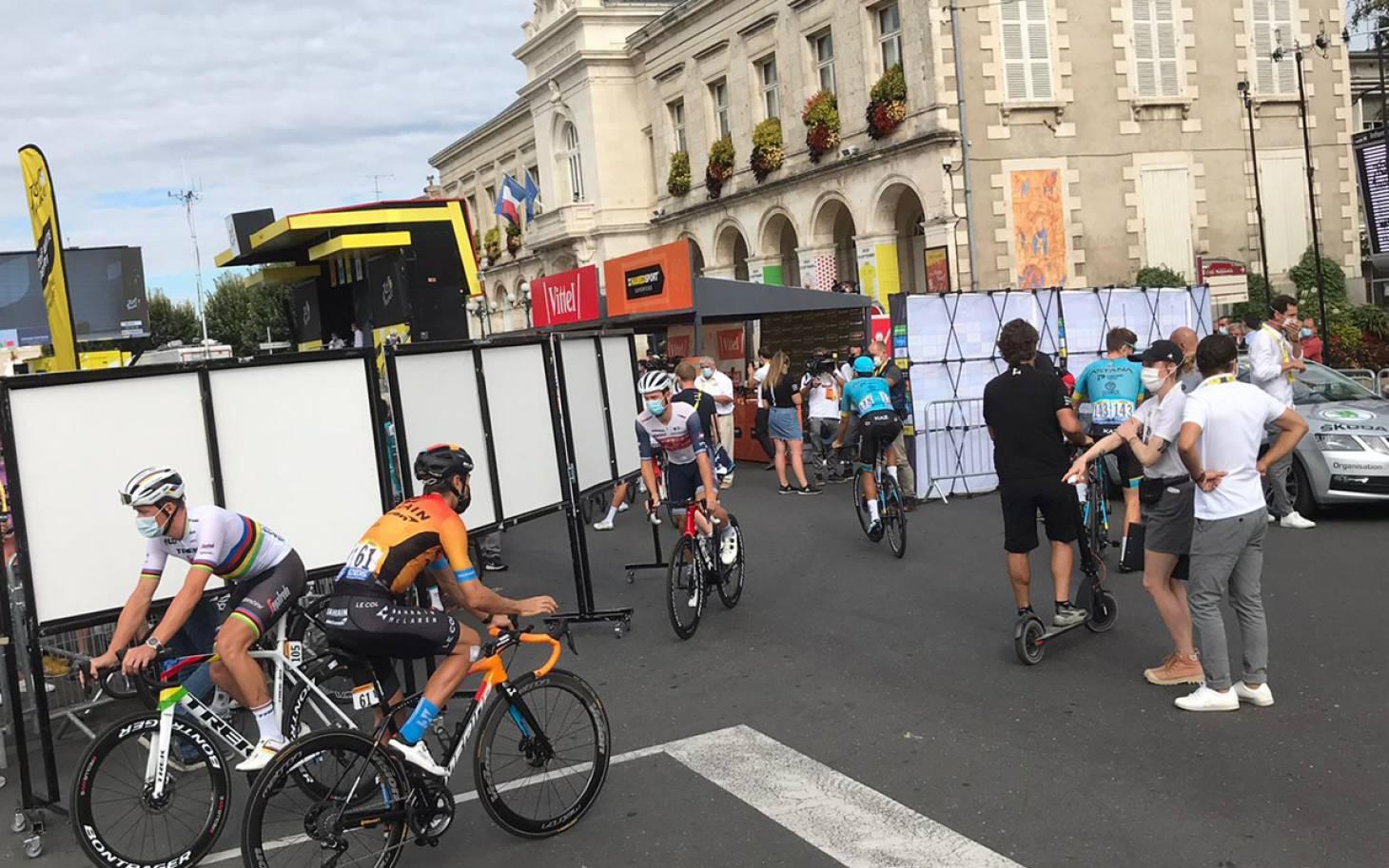 Tour de France : place à Chauvigny