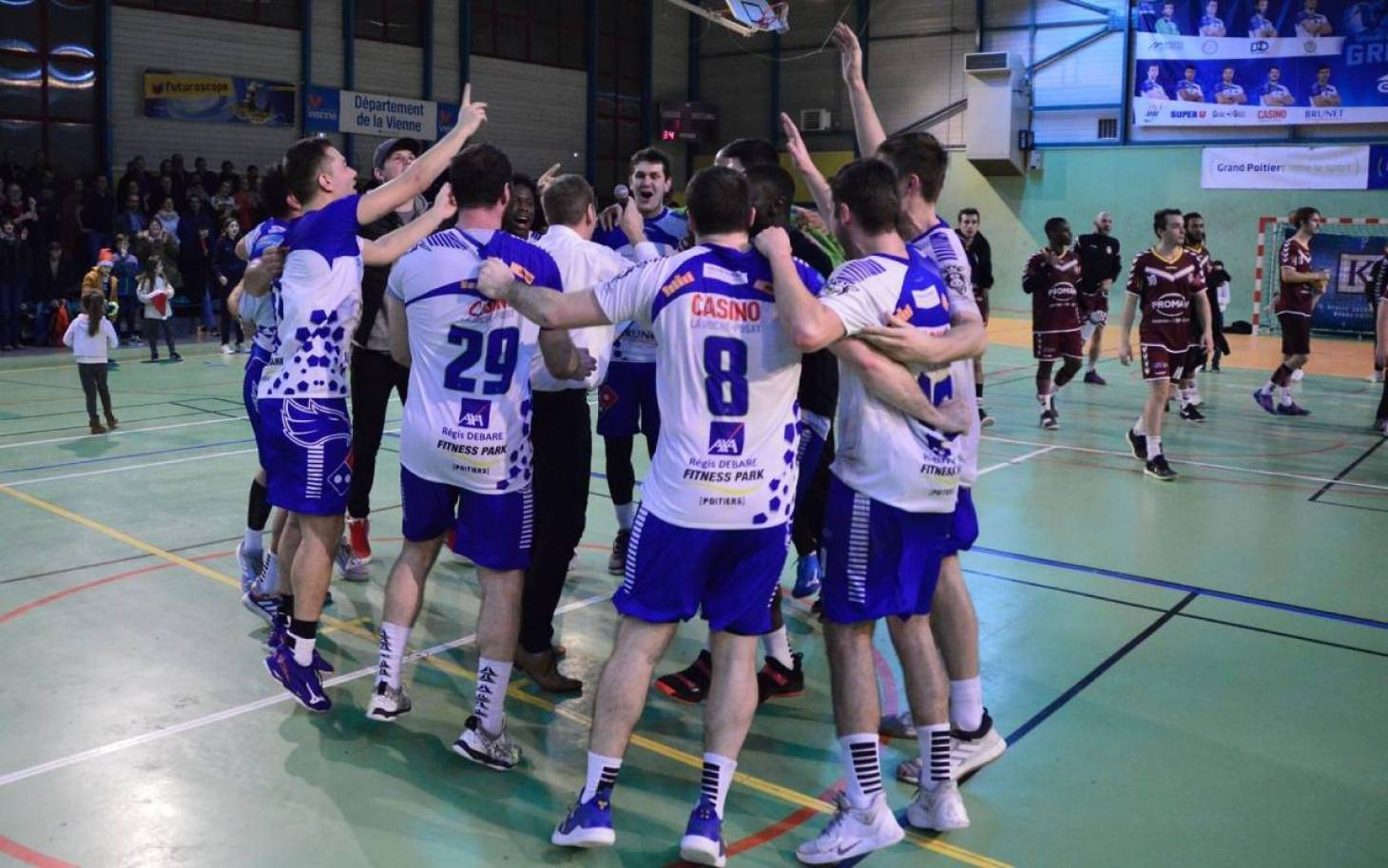 Le Grand Poitiers Handball 86 en N1 pour durer