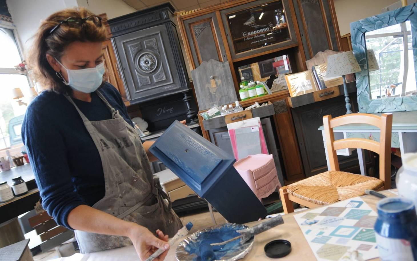 Florence Lepage, l'art de sublimer les meubles