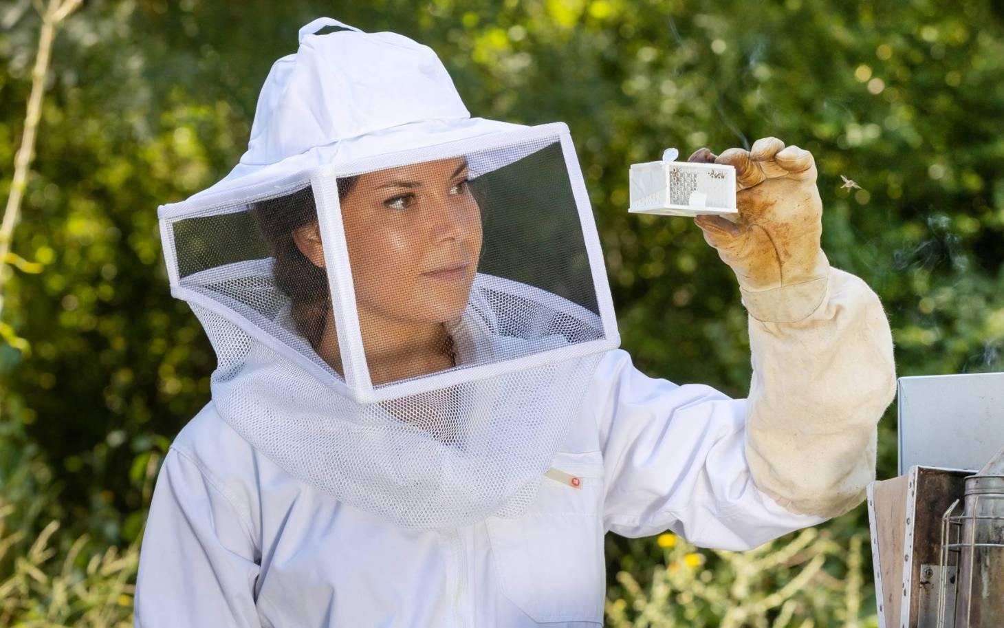 Fille d'apiculteur et chercheuse engagée