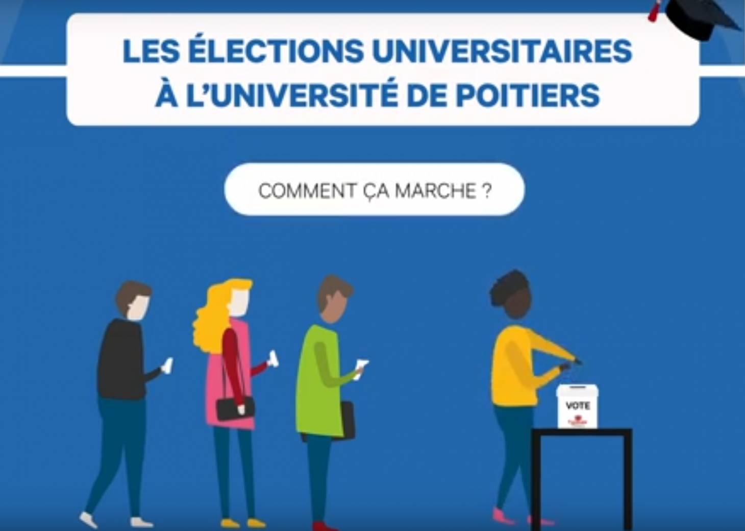 Elections/Université : les quatre candidats à la présidence en débat
