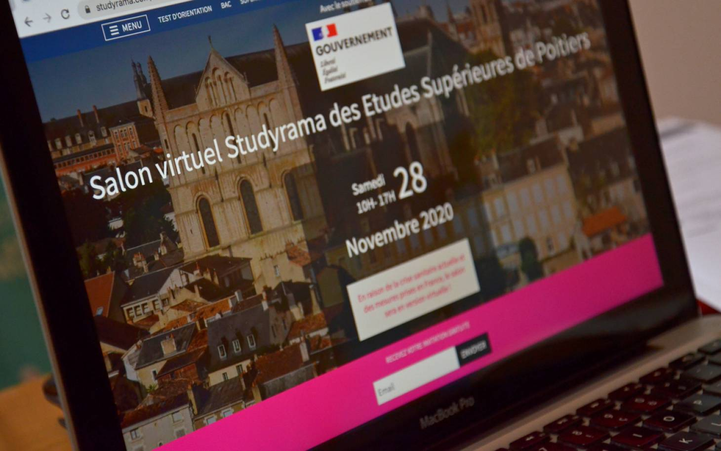 Le salon Studyrama en mode virtuel
