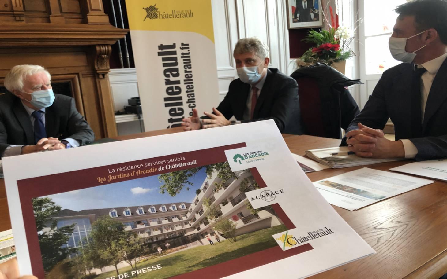 Châtellerault - 93 appartements adaptés pour les seniors en 2022