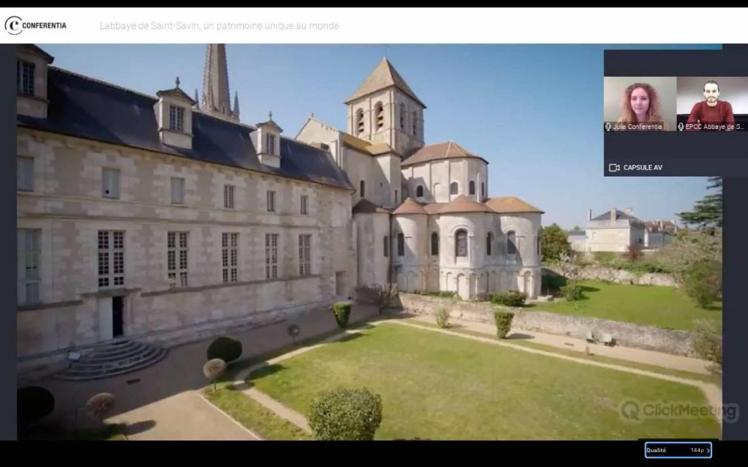 L'abbaye de Saint-Savin s'ouvre au digital