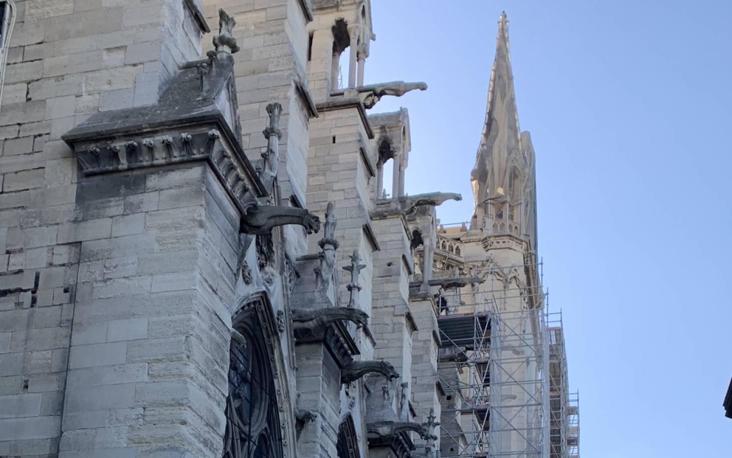 BMH au chevet de Notre-Dame de Paris