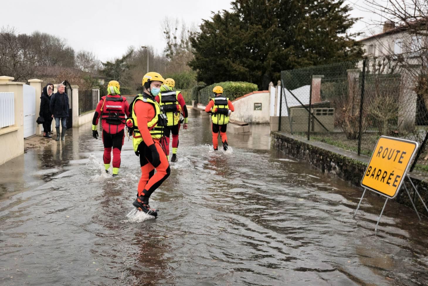 Inondations - Les renforts de la Vienne toujours présents ce matin en Charente-Maritime