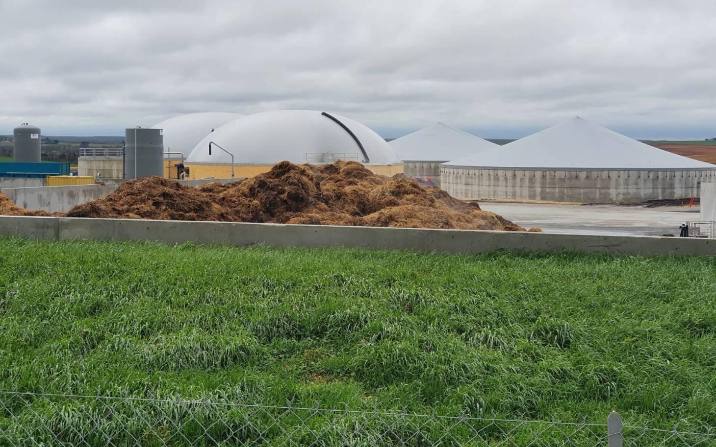 Du bio-gaz dans le réseau urbain