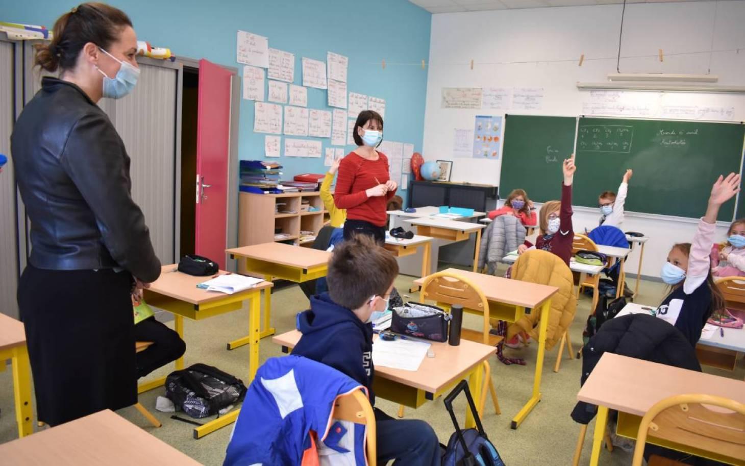 Ecole - Près de 1 680 élèves de maternelle et élémentaire en présentiel