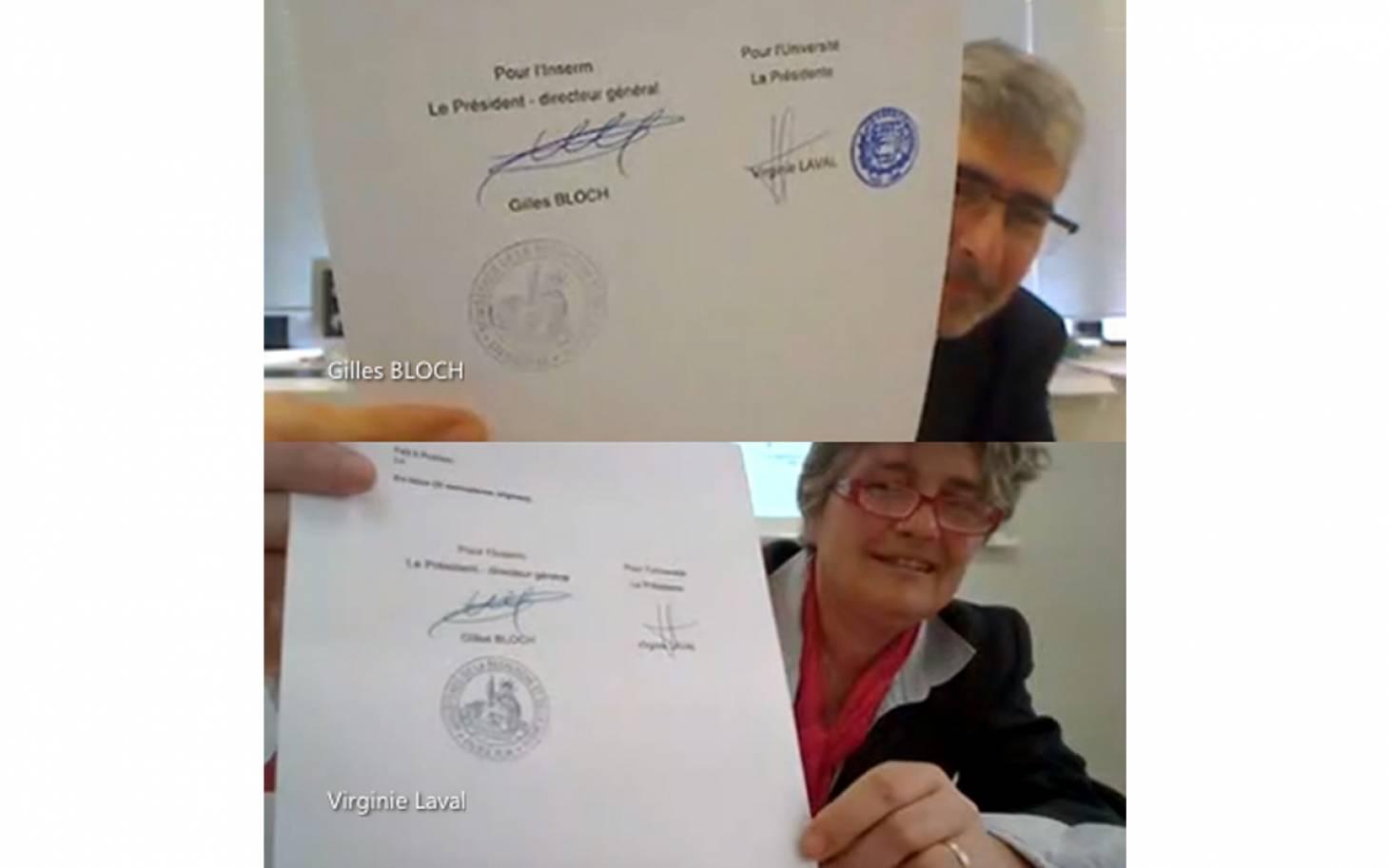 Santé/Poitiers : l'Inserm et l'université renforcent leurs liens