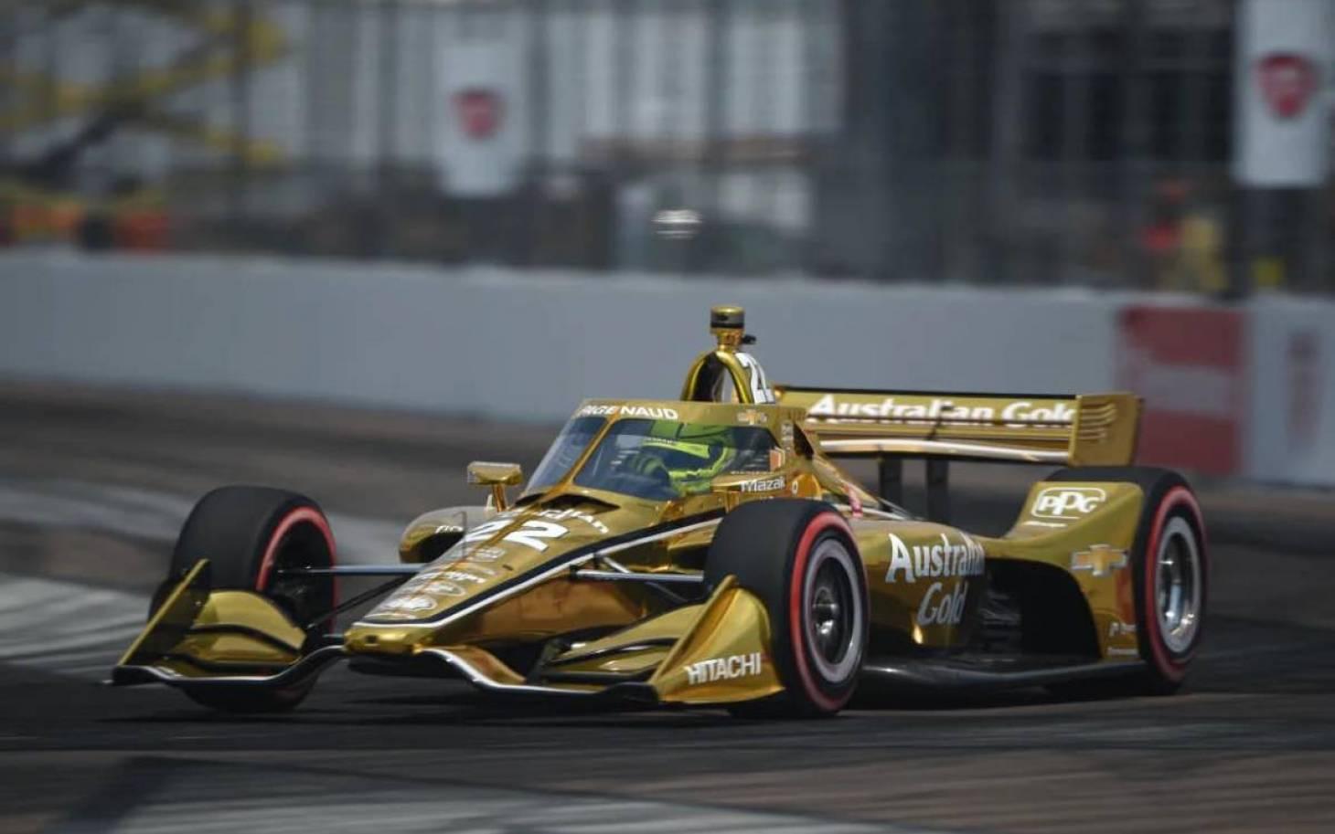 Indycar - Simon Pagenaud 3e sur le Grand Prix of St. Petersburg