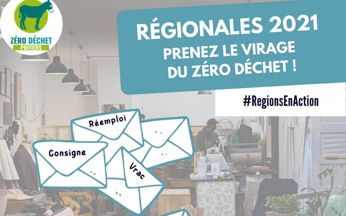 Régionales 2021, prenez le virage du Zéro Déchet!
