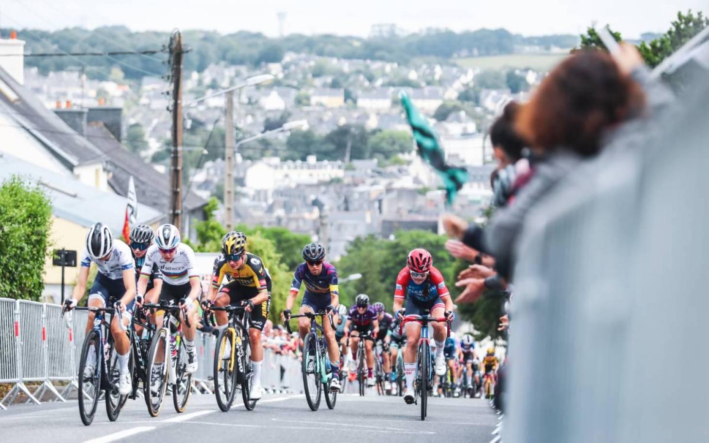 Cyclisme - FDJ Nouvelle-Aquitaine Futuroscope : Cecilie Uttrup Ludwig, 2e de La course by Le Tour