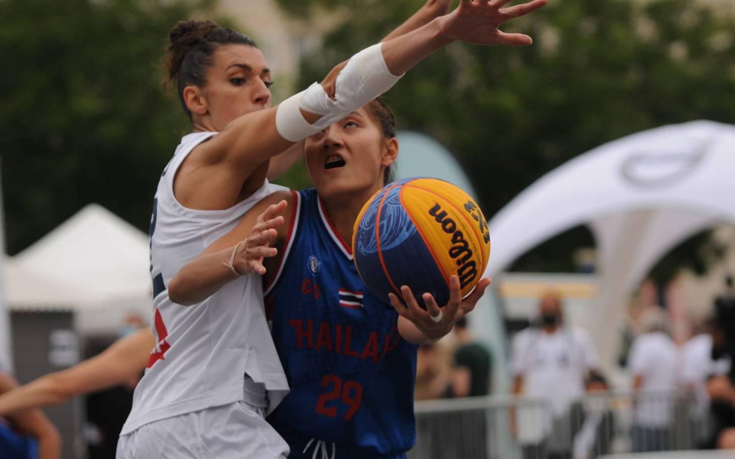 Basket 3x3 : les Bleues remportent le Women's series de Poitiers