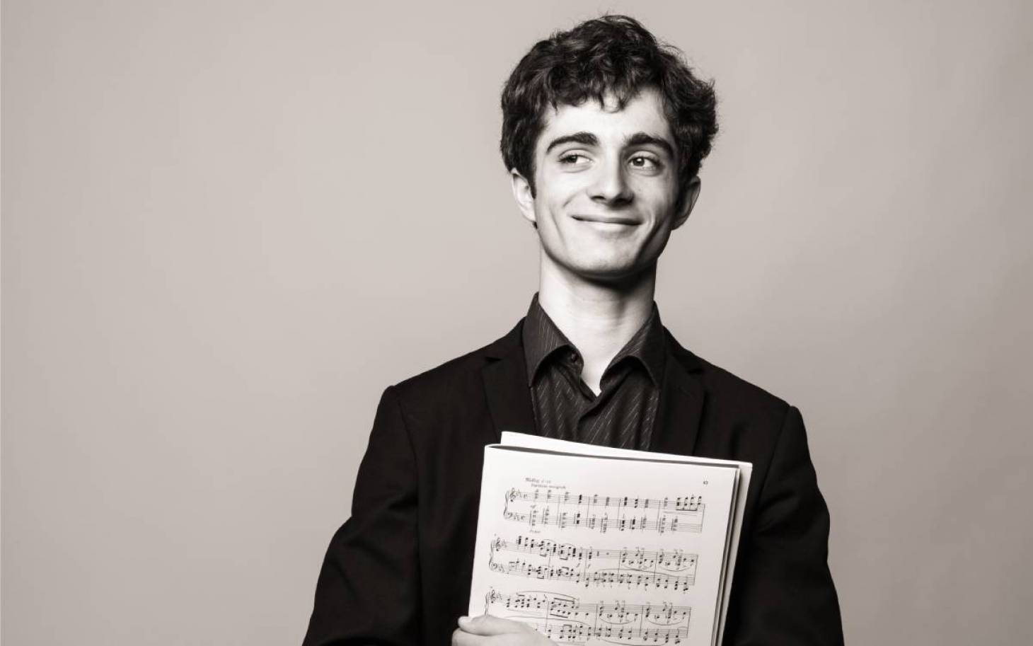Gaspard Thomas, espoir du piano