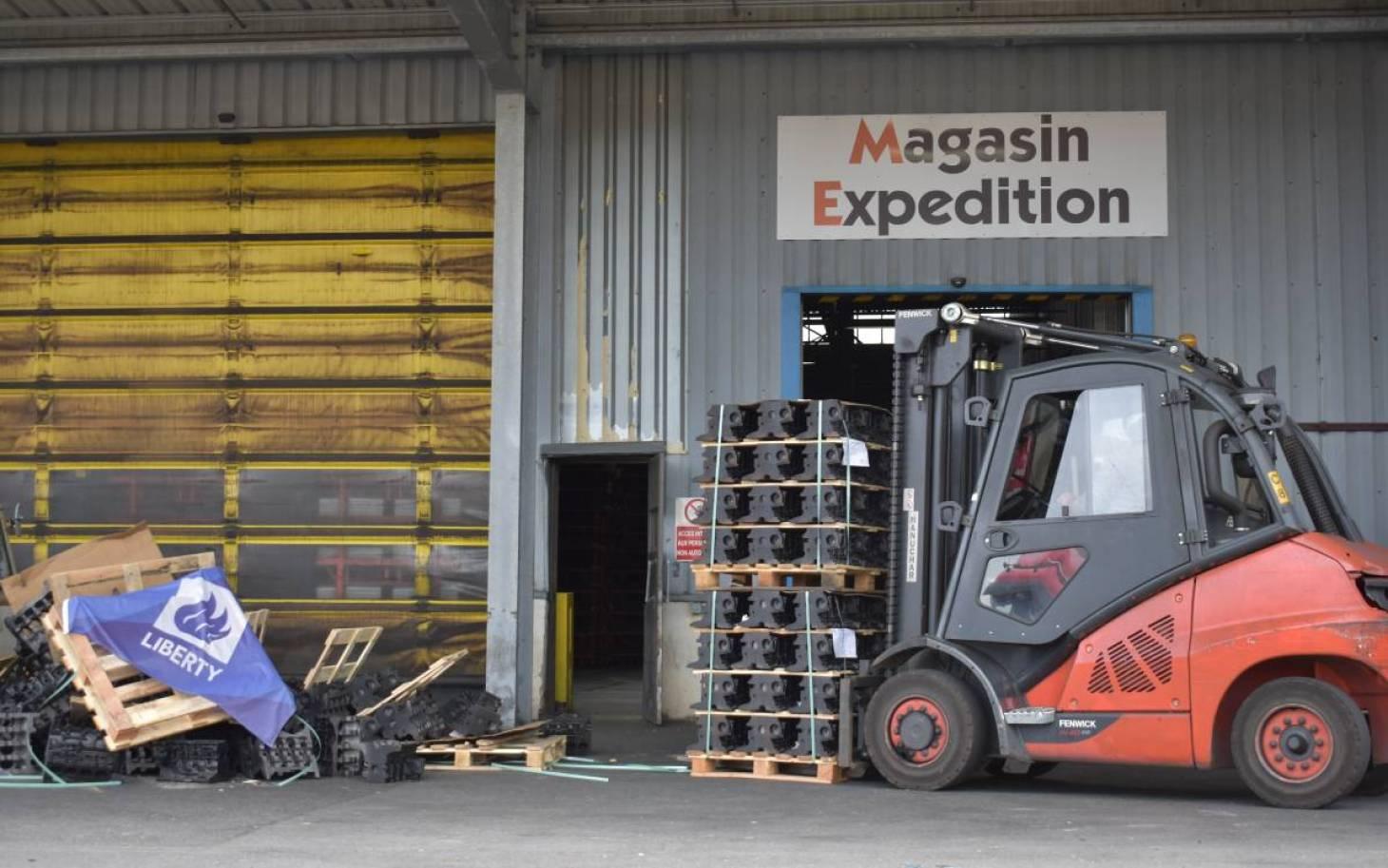 Fonderie fonte - Les salariés bloquent les expéditions