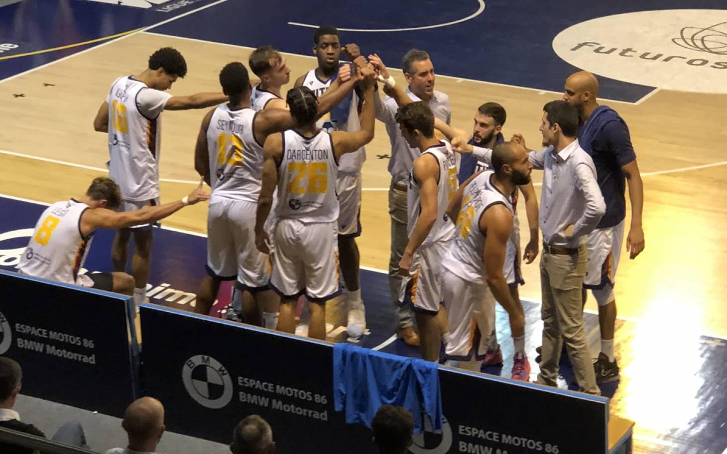 Basket/Coupe de France - Le PB86 s'impose face à Challans (84-72) et file en 32e de finale