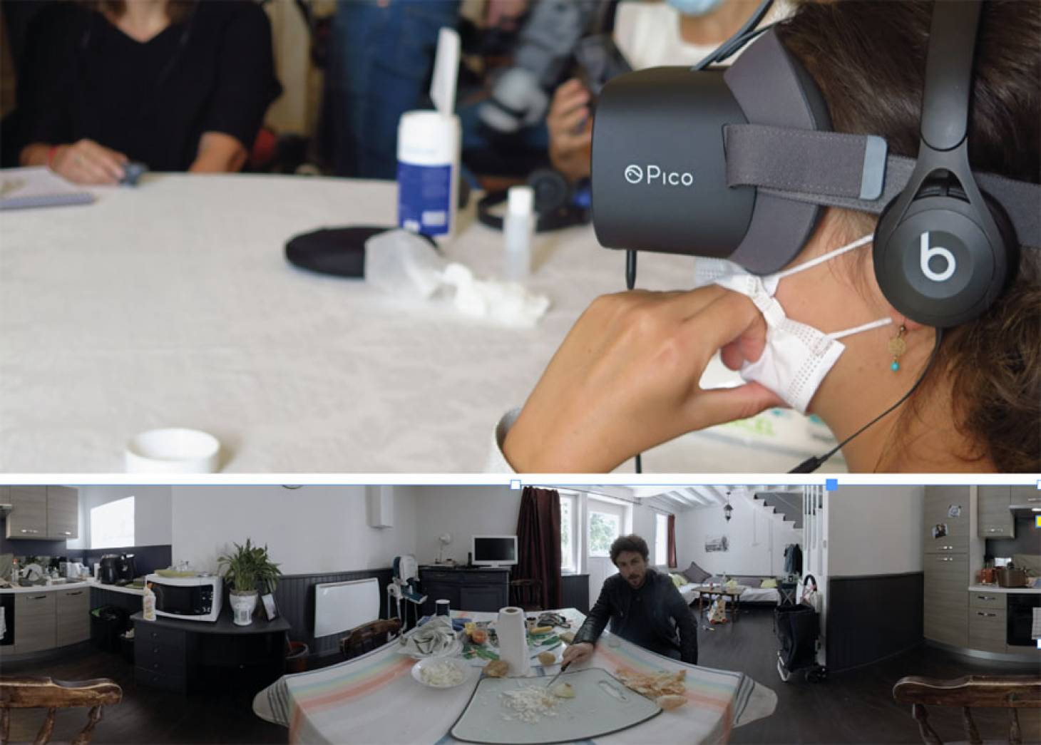 Violences conjugales: réalité virtuelle vs récidive