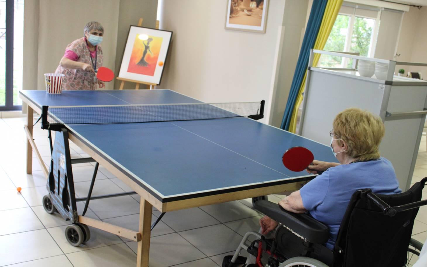Le ping-pong, c'est la santé!