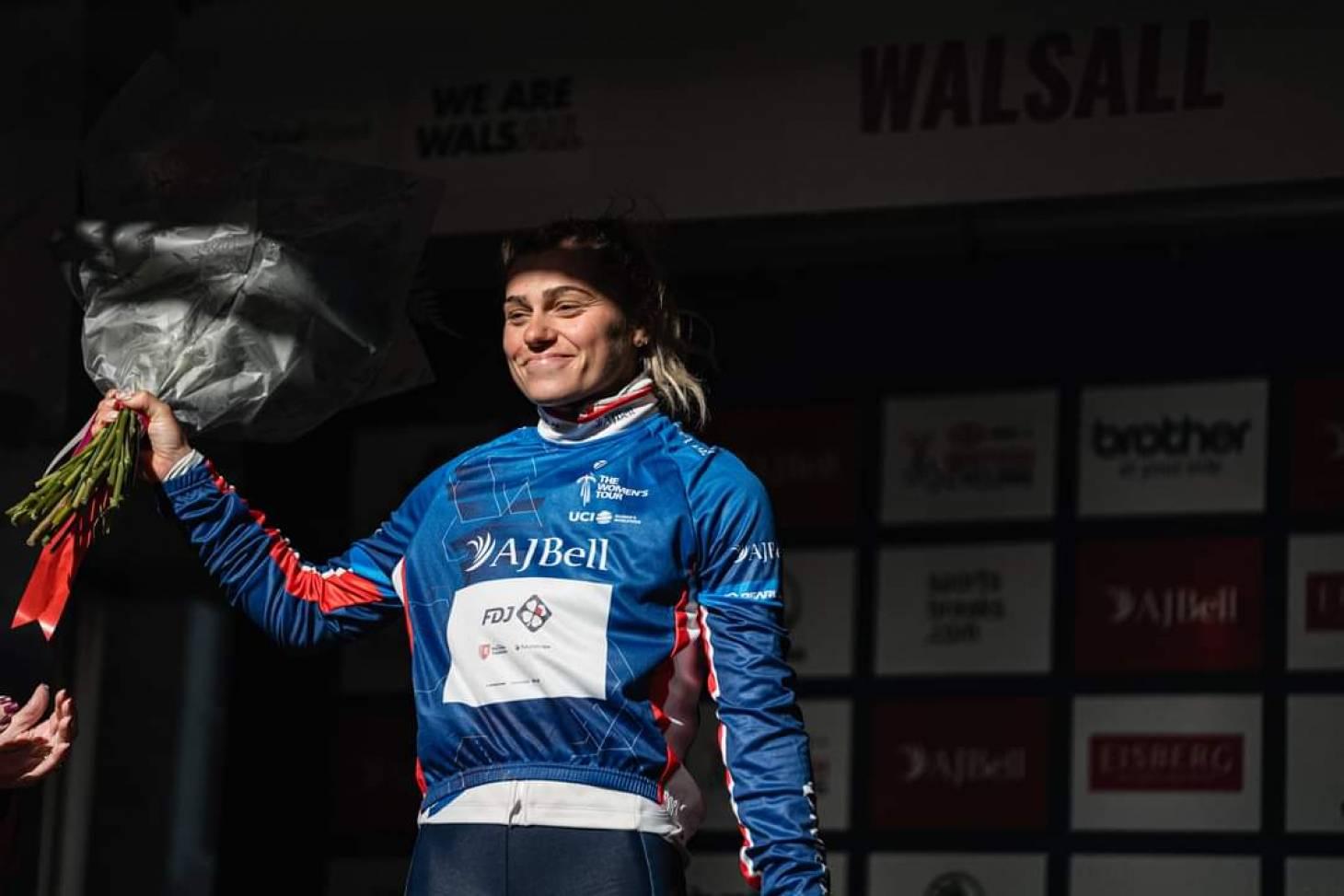 Cyclisme/Women's Tour - Clara Copponi prend la tête du classement