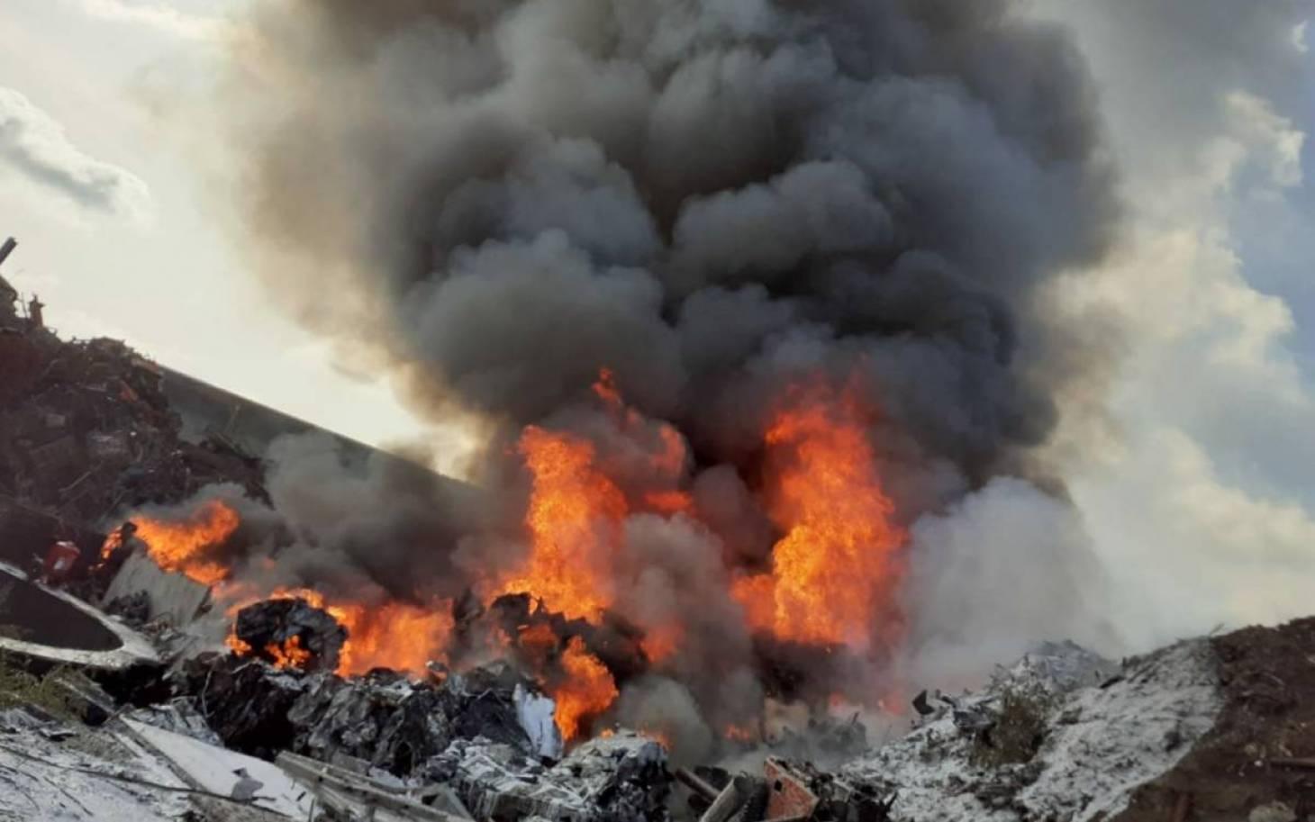 Bonneuil-Matours – D'importants moyens engagés pour un feu industriel