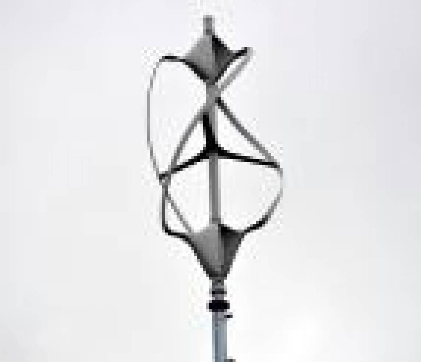 La première micro-éolienne présentée au public samedi