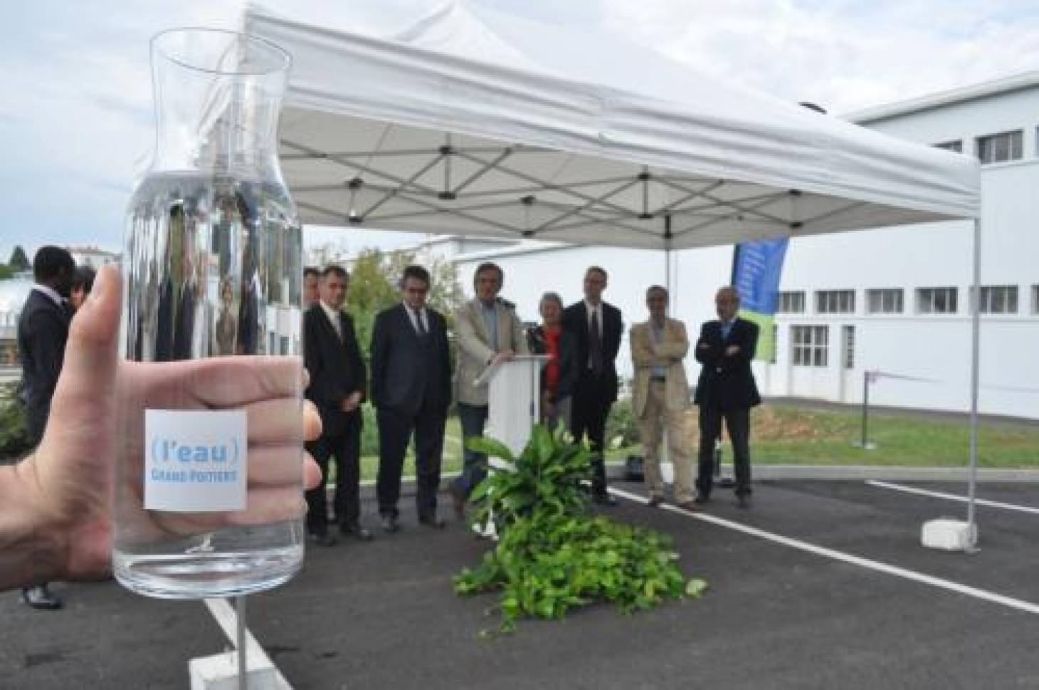 Rénovation de l'usine de production d'eau potable