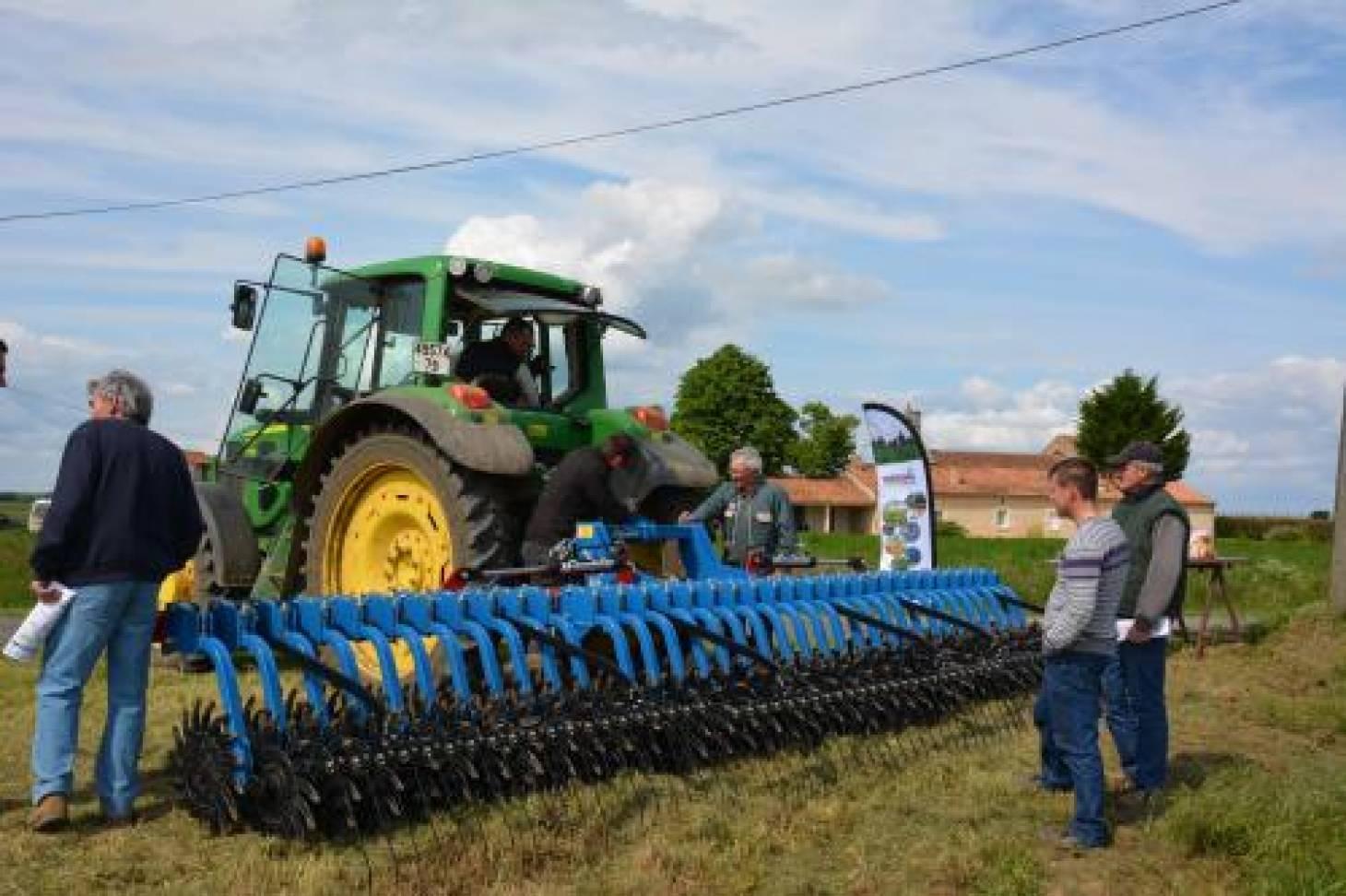 Terrena Poitou propose des alternatives au glyphosate