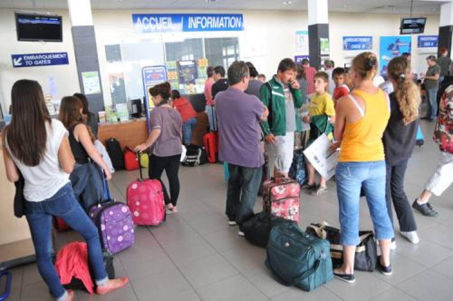 Aéroport de Tours en travaux :<br>2 400 passagers attendus à Poitiers