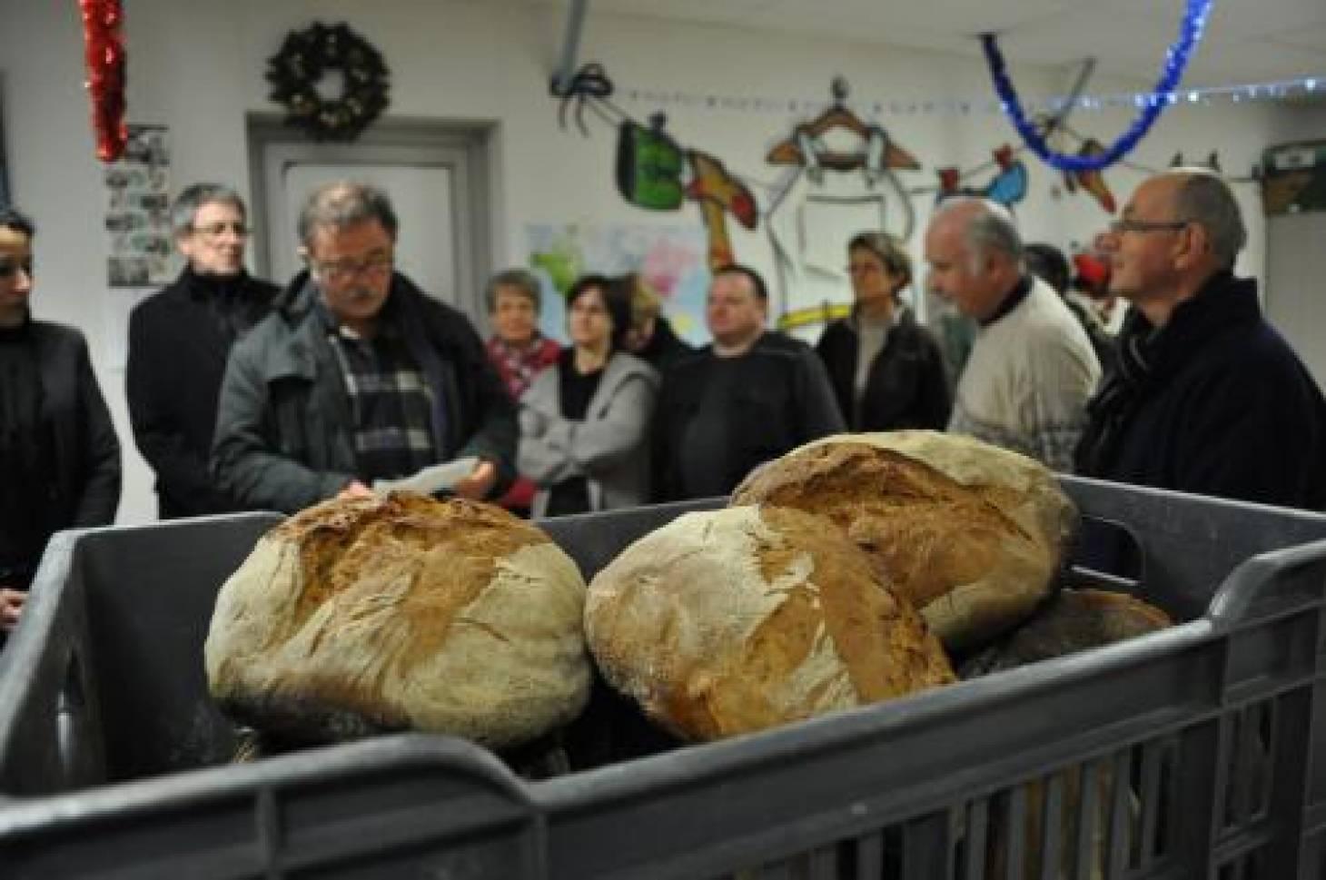 Du pain pour les Restos du Cœur