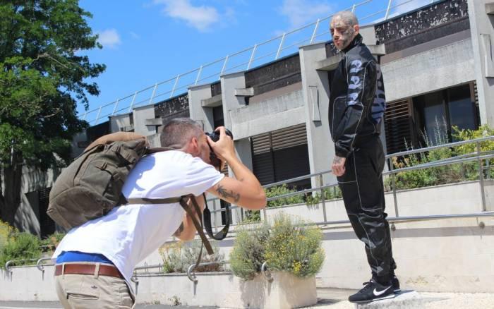 La marque Biffin en shooting photo à Poitiers