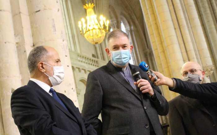Les communautés catholique et musulmane de Poitiers unies contre le terrorisme