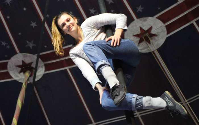 Naomie Vogt-Roby, l'acrobate qui monte