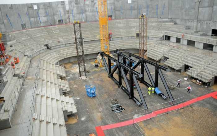 L'Arena toujours programmée pour mai 2022