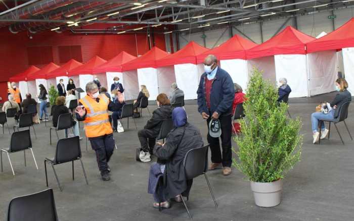 Poitiers - Le centre de vaccination de grande capacité est ouvert