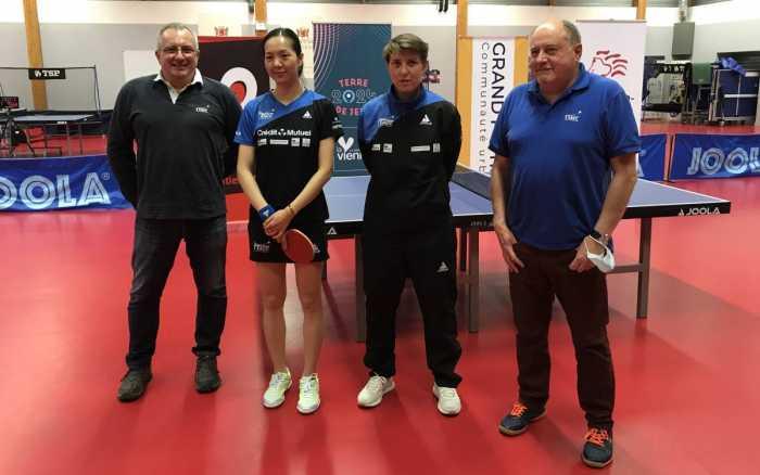Jia Nan Yuan de retour à Poitiers après sa qualification aux Jeux olympiques