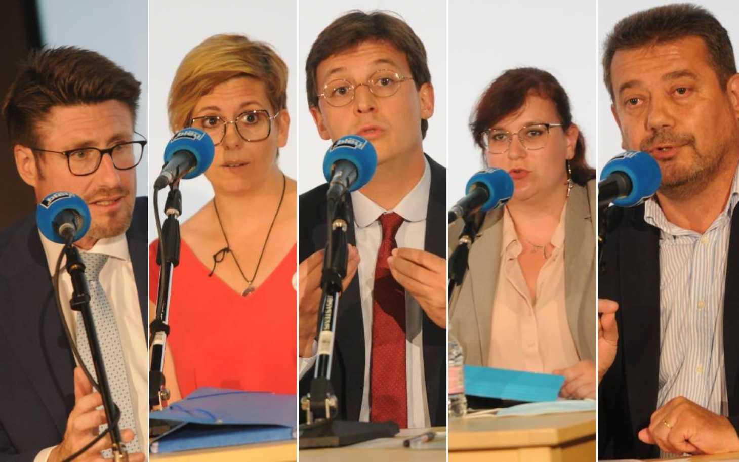 Départementales : cinq candidats face au 7 et France Bleu Poitou