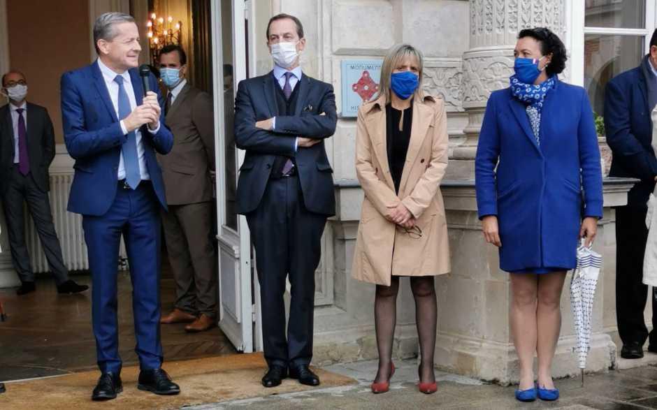 Sénatoriales : Bruno Belin et Yves Bouloux dans un fauteuil