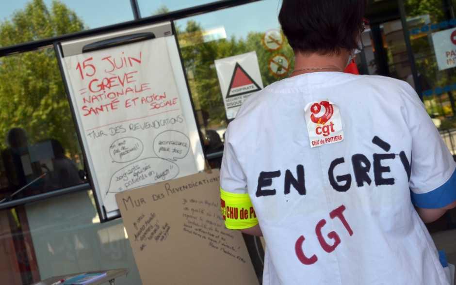 Les personnels de santé restent mobilisés contre la dégradation de leurs conditions de travail