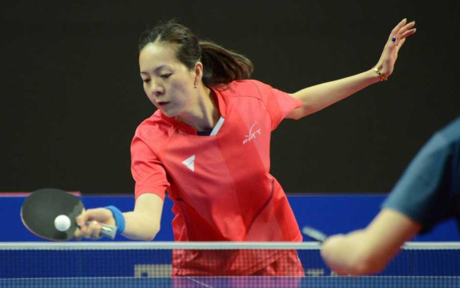 Tennis de table/JO de Tokyo - Jia Nan Yuan au pied du podium en double mixte