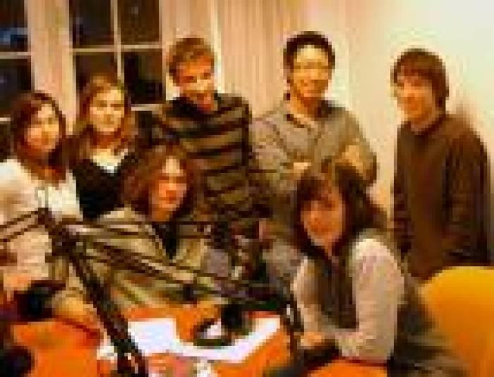 Leur premier direct à la radio